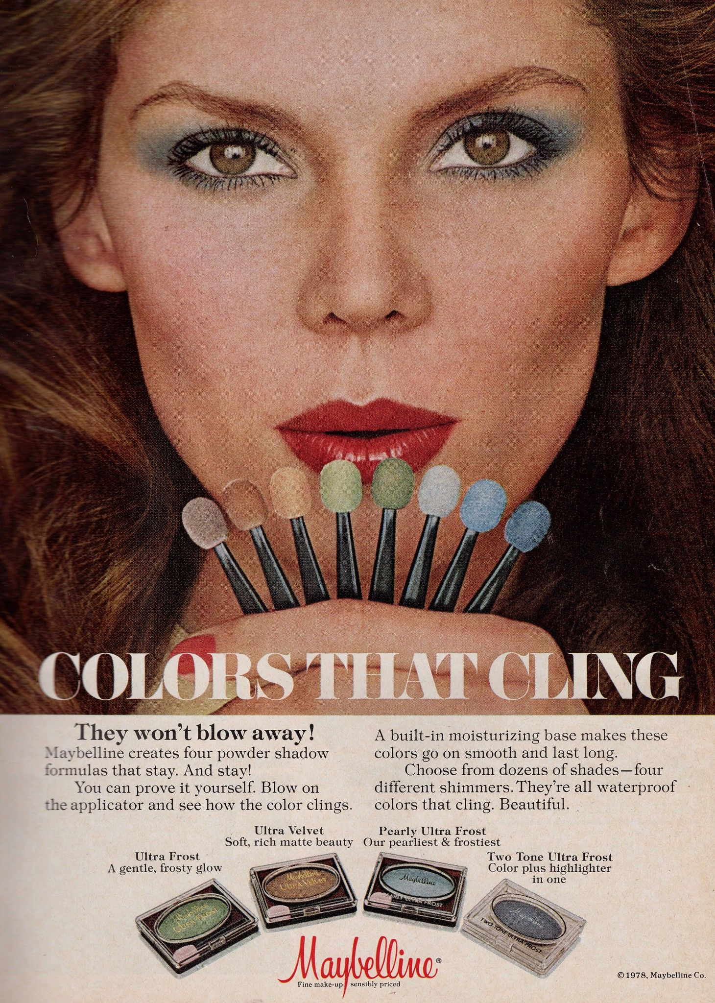Maybelline 1979 In 2020 Vintage Makeup Ads Hair And Makeup Artist