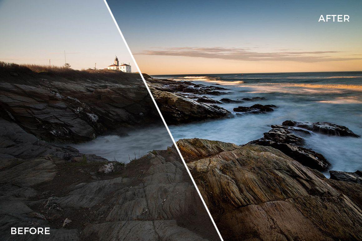 Landscape HDR Effects for Adobe Lightroom