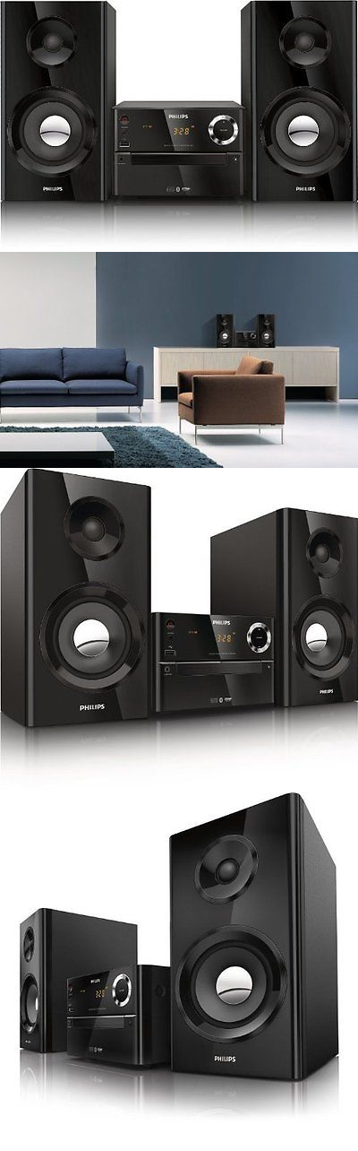 Compact and Shelf Stereos: Wireless Music Stereo Speaker System Home Theater Mp3 Cd Usb Iphone Phone Micro BUY IT NOW ONLY: $232.33