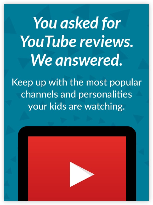 to your new YouTube guide Common sense media