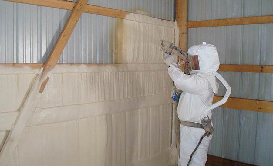 Pu Spray In Lahore 03099992929 In 2020 Spray Insulation Insulation Materials Spray Foam Insulation