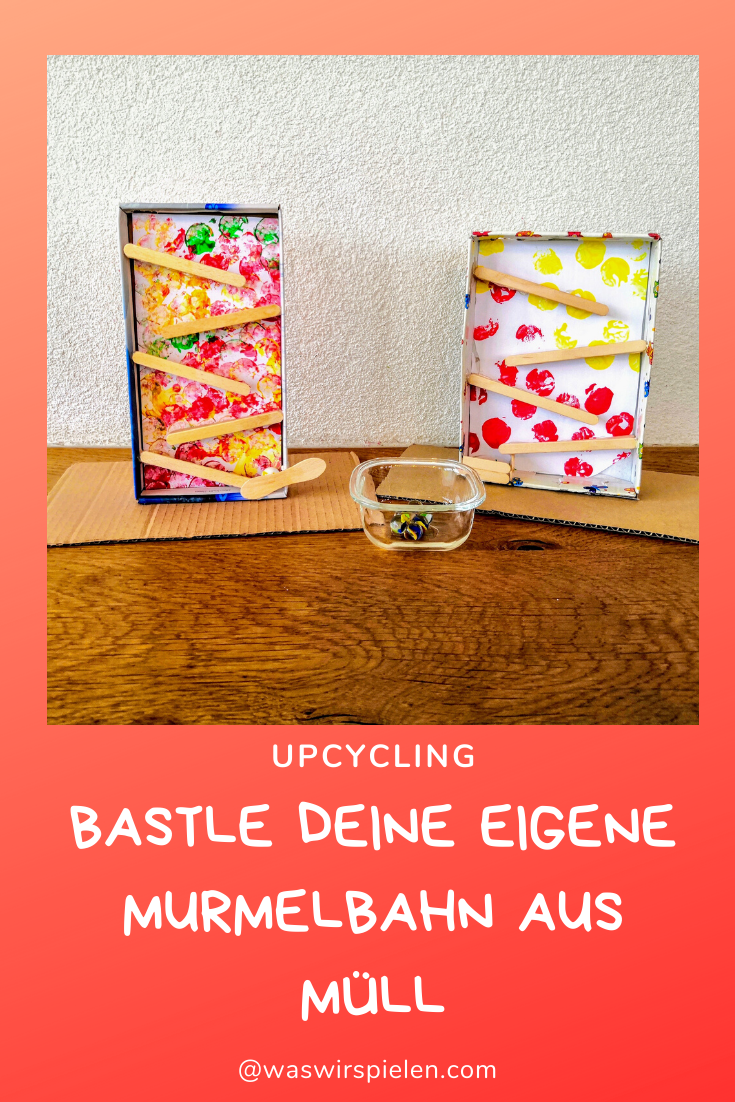 Photo of Basteln mit Kind, Bastelidee für Kinder, DIY, Upcycling, Mur…