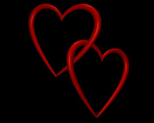 Valentine Hearts Clip Art Entangled Red Love Hearts Transparent Background Valentine Clip Art Perfect Decoration Heart Clip Art Valentine Clipart Free Clip Art