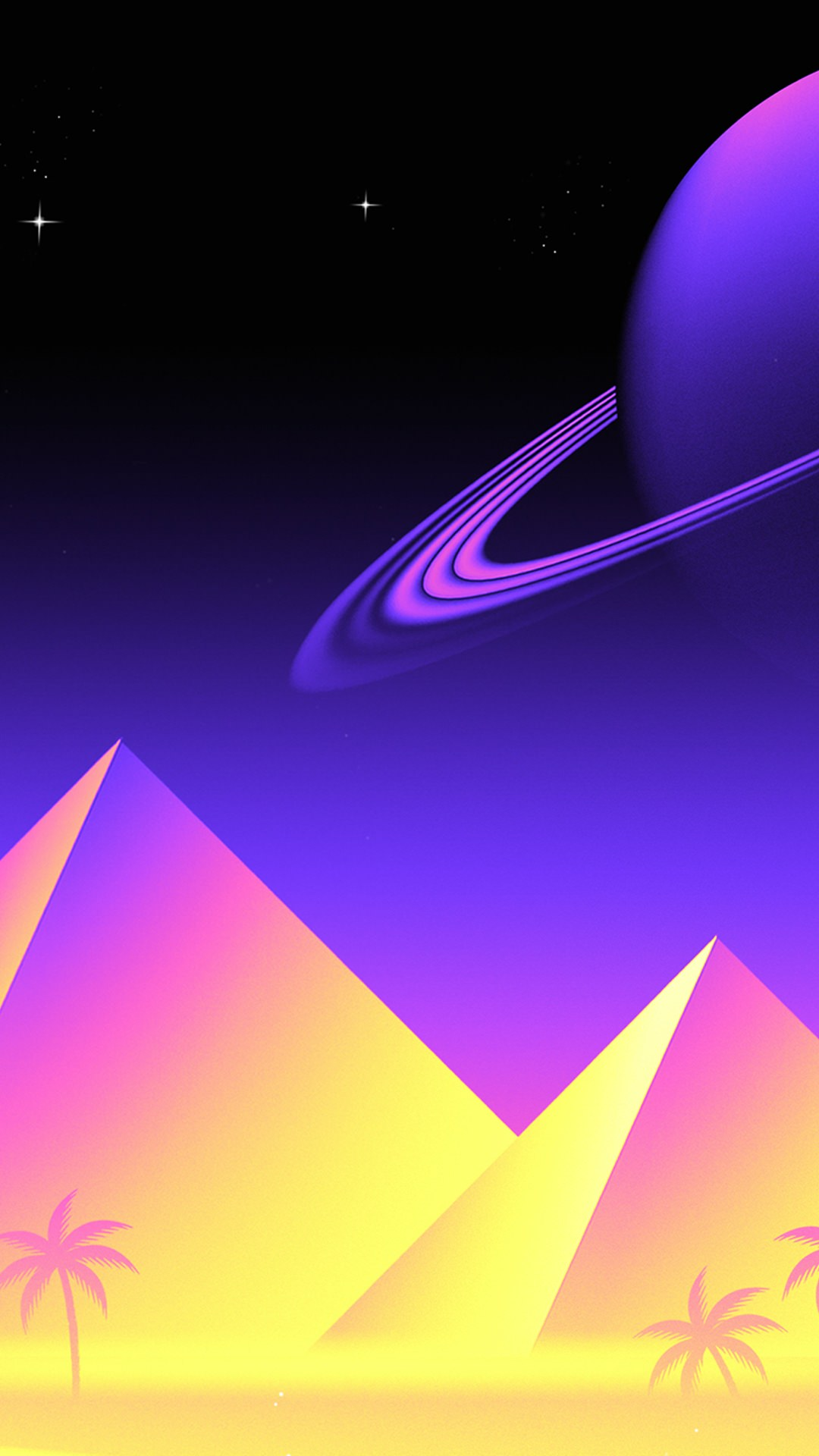 iPhone X (VaporWave) [2436 x 1125] imagens