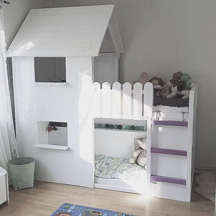 1000 ideas about lit superpos ikea on pinterest bunk beds superpose and lit mezzanine - Ikea Chambre Bebe Fille