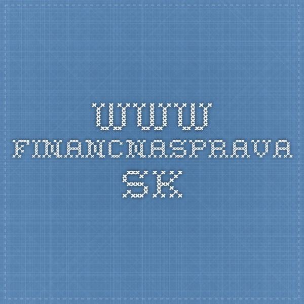 www.financnasprava.sk Pozem.spoločenstvo a licencie - neplatí, ich