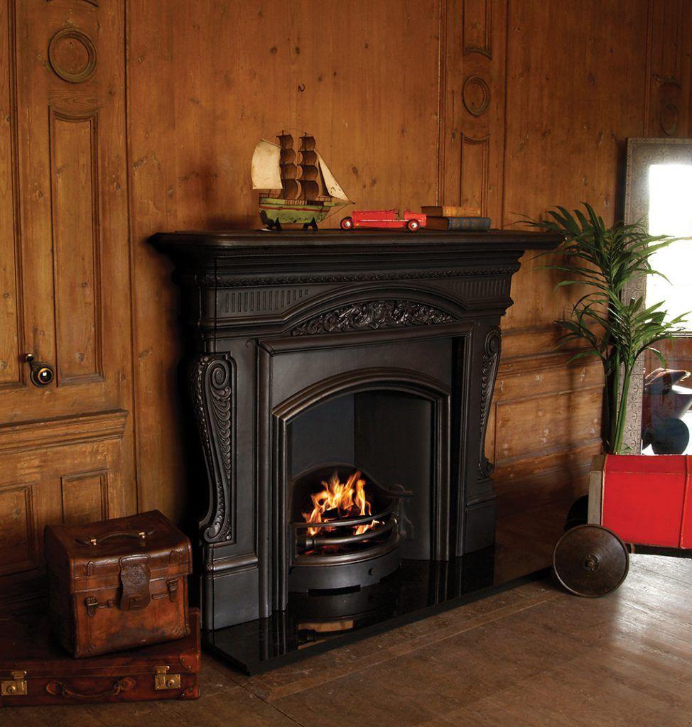 Cast Iron Fireplace Inserts Pendragon Fireplaces Cast Iron Fireplace Fireplace Mantels For Sale Freestanding Fireplace
