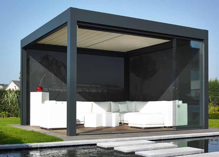 Renson Camargue in 2020 Sliding panels, Sliding wall