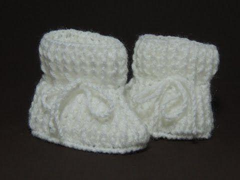 Sapatinho de crochê - Sapatinho de bebê Tradicional - Parte 2 3 (Canhotas)  - YouTube c92900afc87
