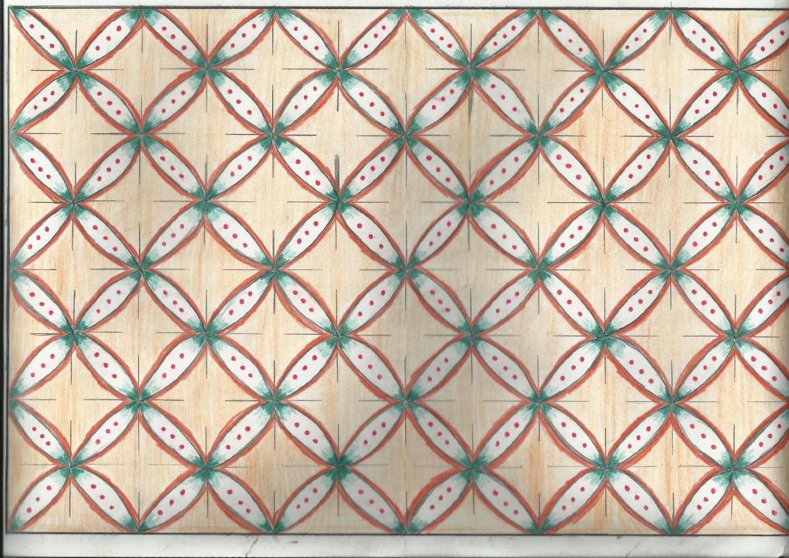 Motif Batik Bunga Dibuku Gambar Contoh Motif Batik Yang