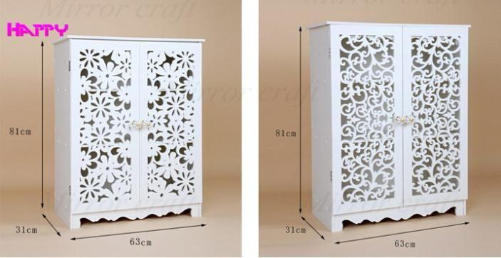 Moderna decoraci n del hogar de almacenamiento en rack for Gabinete de zapatos para la entrada