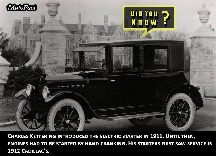 The First Electric Starter Was Made In 1911 Any More Clues Autofacts