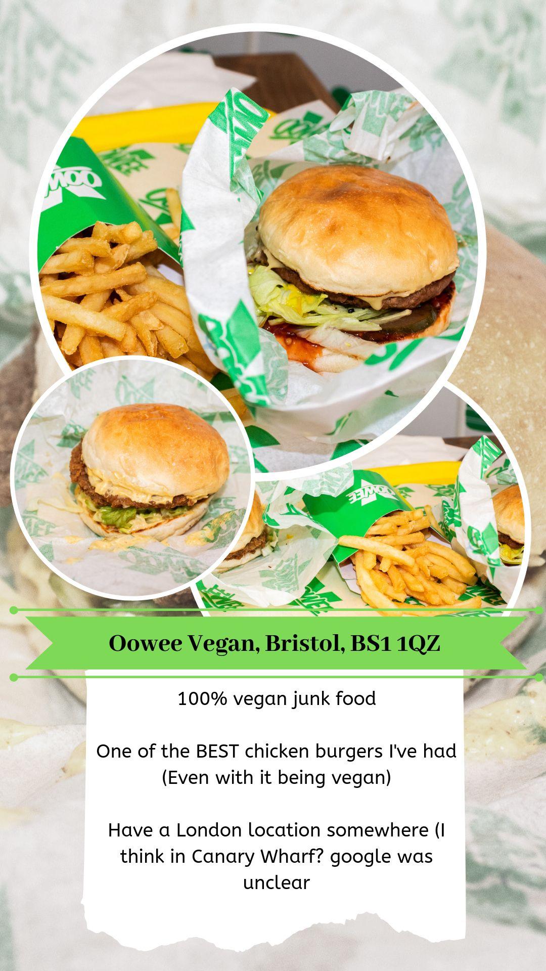 Mini Review Of Oowee Vegan A 100 Vegan Junk Food