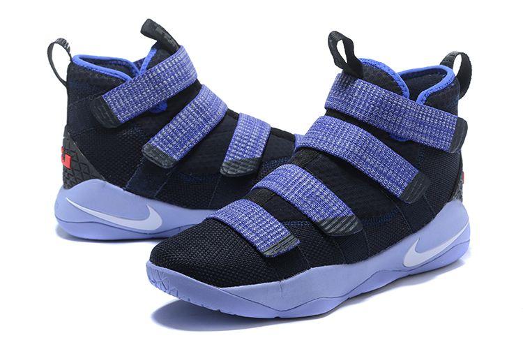 "best website 12d37 3a616 Nike LeBron Soldier 11 ""Steel"" Men's Basketball Shoes | My ..."