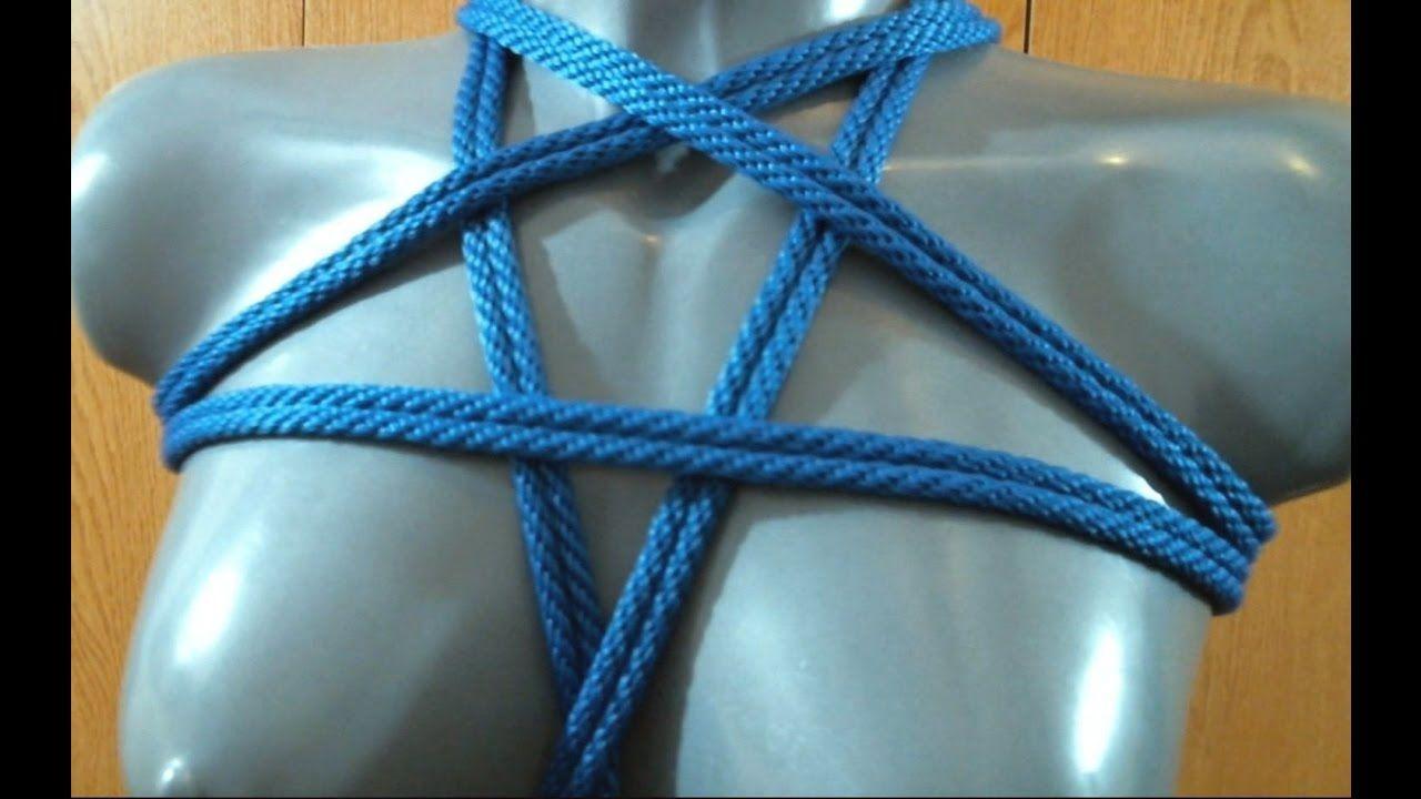 Rope Tutorial: Pentagram Chest Harness | Ropes in 2018 | Tie ...
