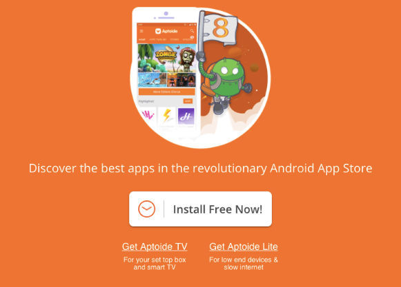 Aptoide installer Latest Version and all previous versions