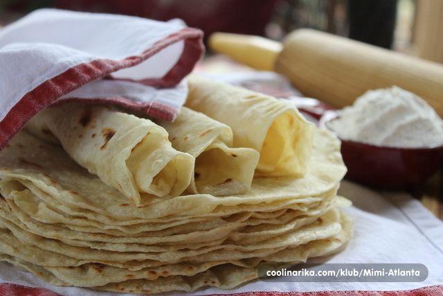 Odlicne domace tortille sa povrtnim uljem i jako jednostavno za pripremiti...