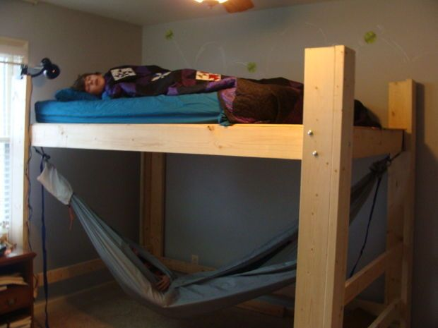 Double Size Bed Loft Loft Beds Loft Beds For Small