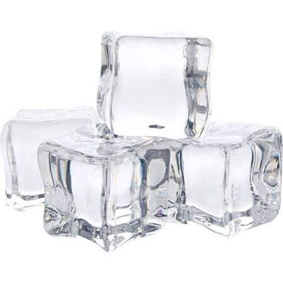 Ice Cubes Faux Fake Clear Acrylic Large Etsy Clear Acrylic Vase Fillers Clear Ice