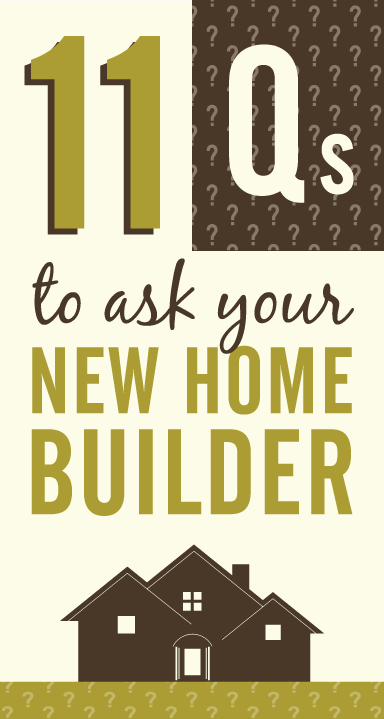 11 must ask questions for your new home builder richmond