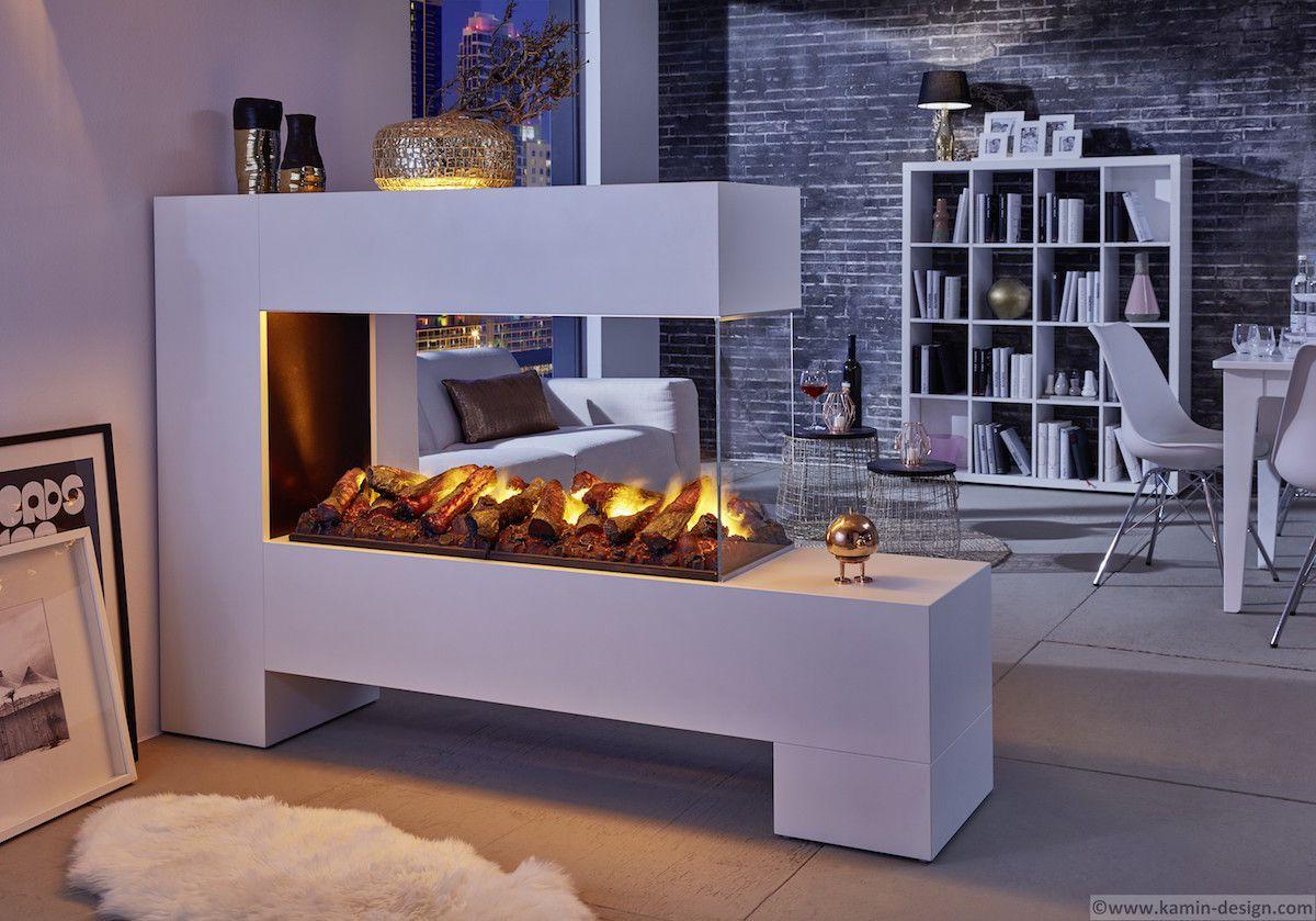 aspect splan 13 l100 raumteilerkamin elektrischer kamin. Black Bedroom Furniture Sets. Home Design Ideas
