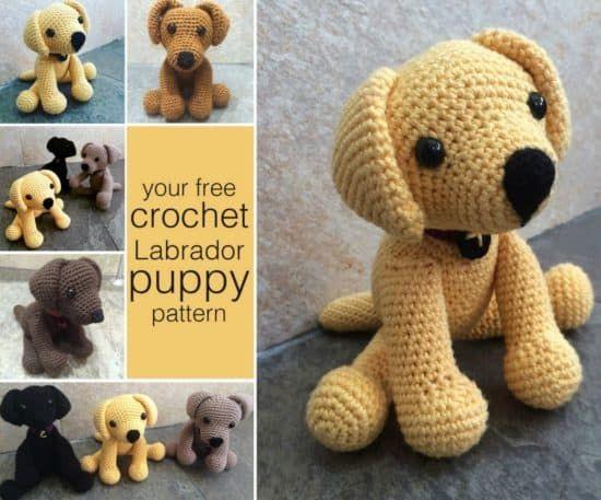 Dog Crochet Pattern Pinterest Top Pins Video Tutorial Free Pattern