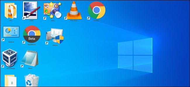 How To Make Windows Desktop Icons Extra Large Or Extra Small Desktop Icons Desktop Pictures Windows