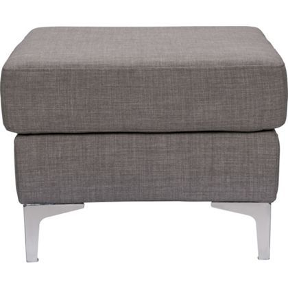 info for 24bb0 5a9ad Brooklyn Footstool - Steel at Homebase -- Be inspired and ...