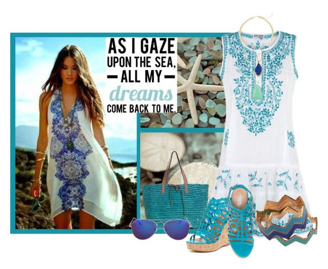 """Gaze Upon the Sea - Contest Entry"" by linolygreen ❤ liked on Polyvore"