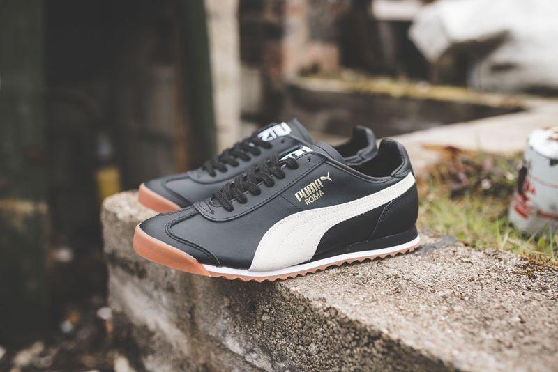 Puma Roma OG 80s   Black puma, Sneakers, Retro fashion