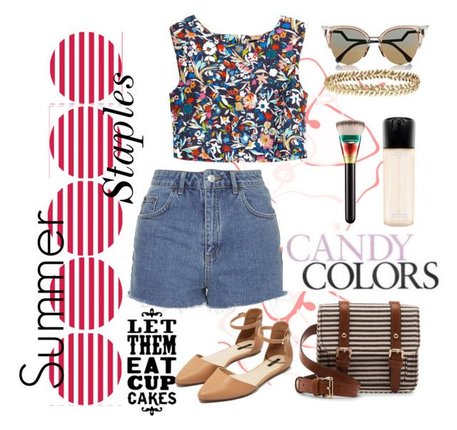 """Summer Staples."" by gabiez ❤ liked on Polyvore"