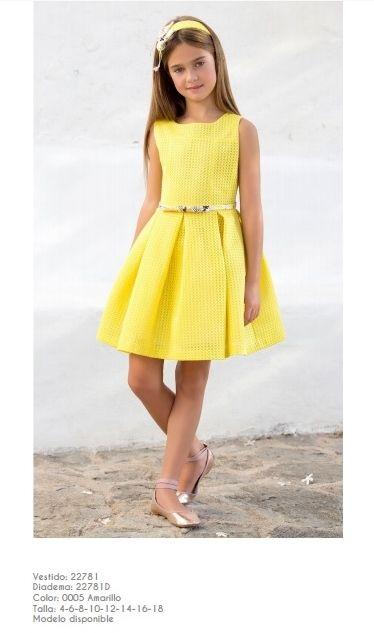 Ceremonia Artesania Amaya Vestidos Bonitos Para Niña Moda Para Niñas Vestidos Para Niñas