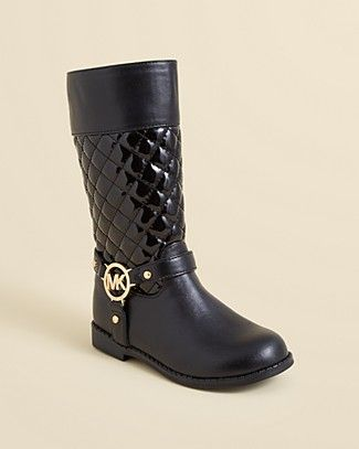 fec624de0 MICHAEL Michael Kors Emma Quilted Boots - Toddler, Little Kid, Big Kid |  Bloomingdale's