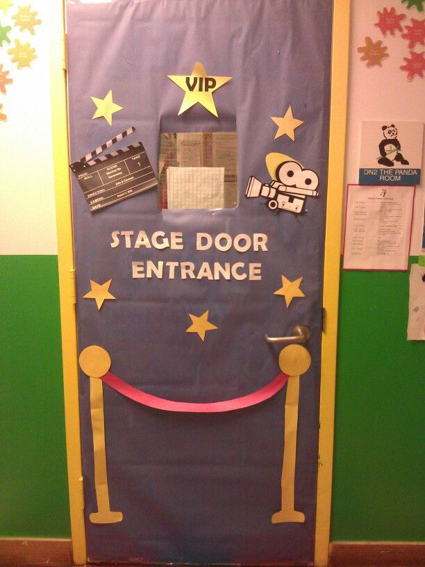 Hollywood Classroom Decor ~ Hollywood themed classroom door my work pinterest