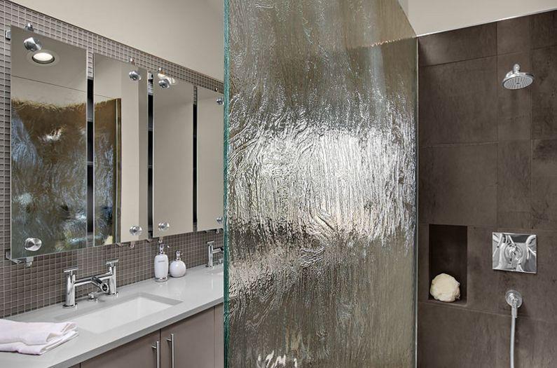 How To Use Rain Glass To Make A Splash And Enhance Your Decor Glass Shower Doors Rain Glass Glass Shower Enclosures
