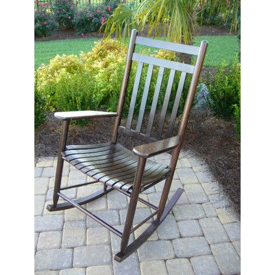 wholesale dealer d454c b735b Dixie Seating Adult Indoor/Outdoor Rocking Chair (RTA ...