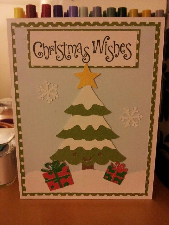 Christmas card i made using cricut cartridge create a critter 2 a christmas card i made using cricut cartridge create a critter 2 a stamp from walmart m4hsunfo