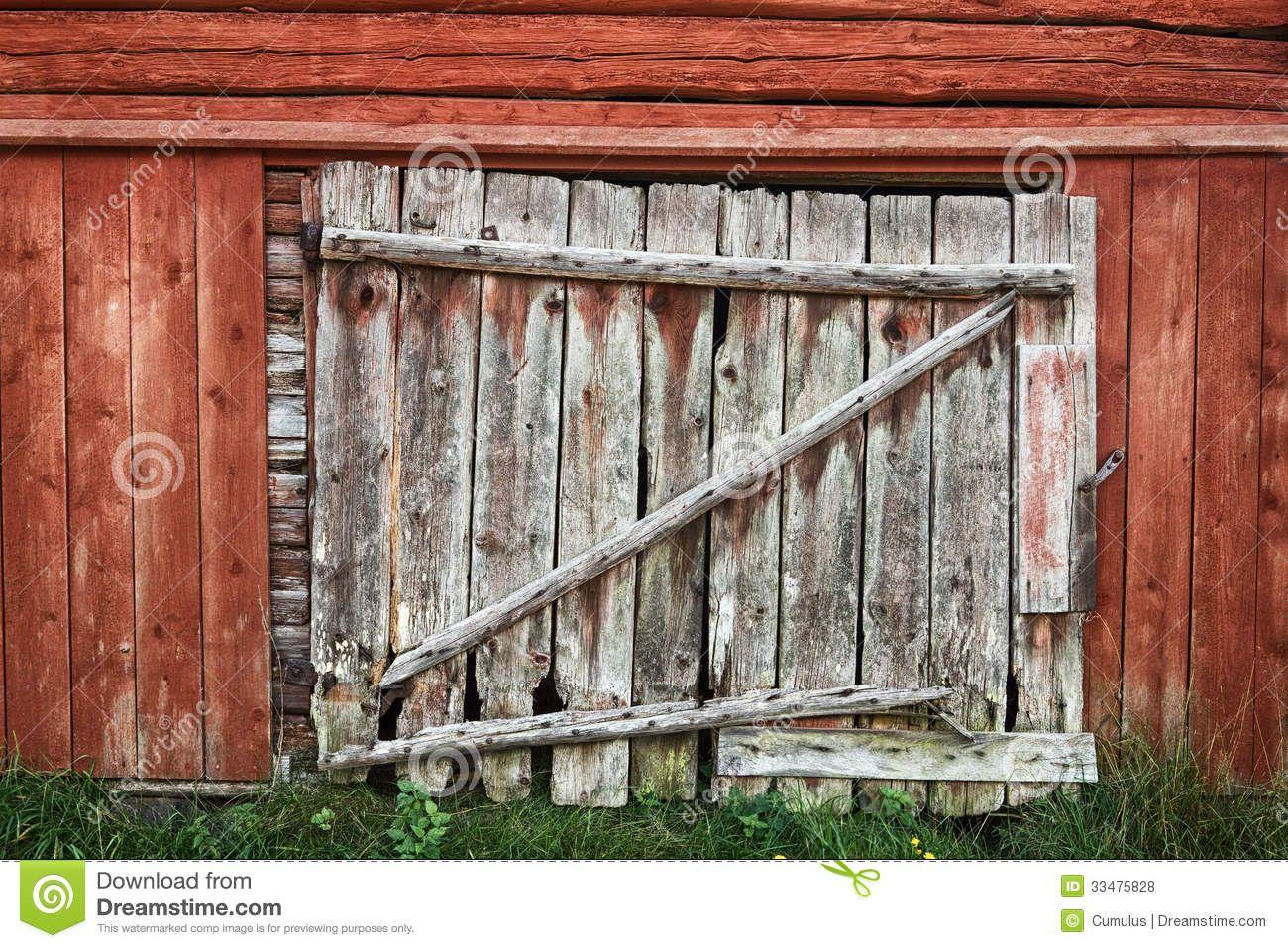 Old Wooden Barn Door Door Backdrops Wood Barn Door Red Barn Door