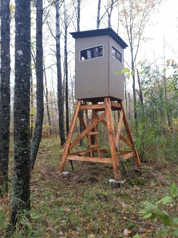 Deer Stand Northern Minnesota Deer Blinds Whitetail
