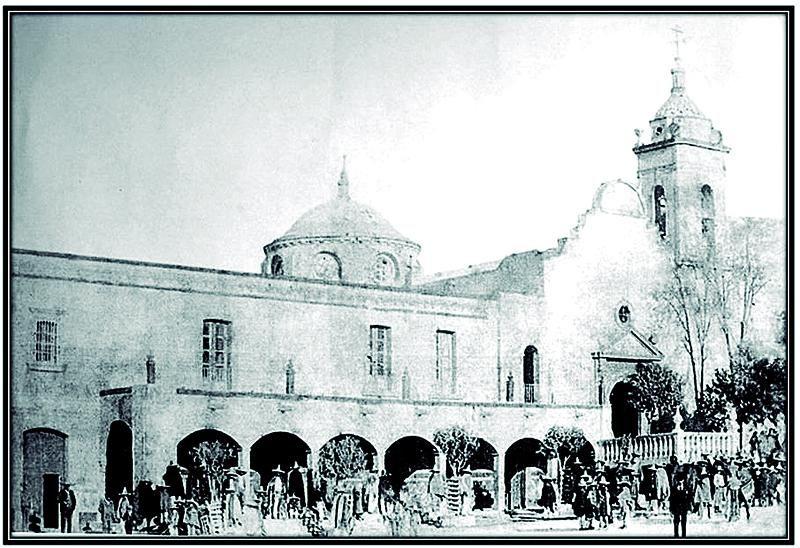 Pánfilo Natera y Úrsulo Ruiz en la Hacienda de Malpaso