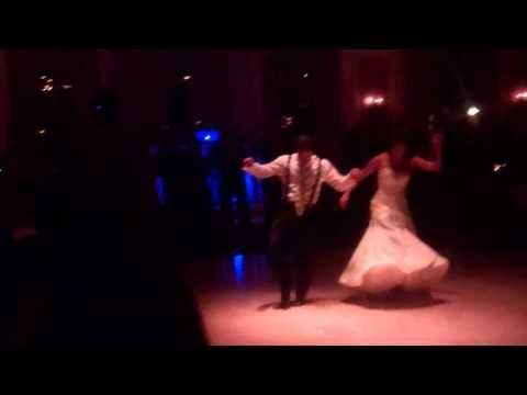 The latin dancing in their first wedding dance totally made me want to take dance lessons! Filmed at the gorgeous Pleasantdale Chateau in West Orange, NJ.