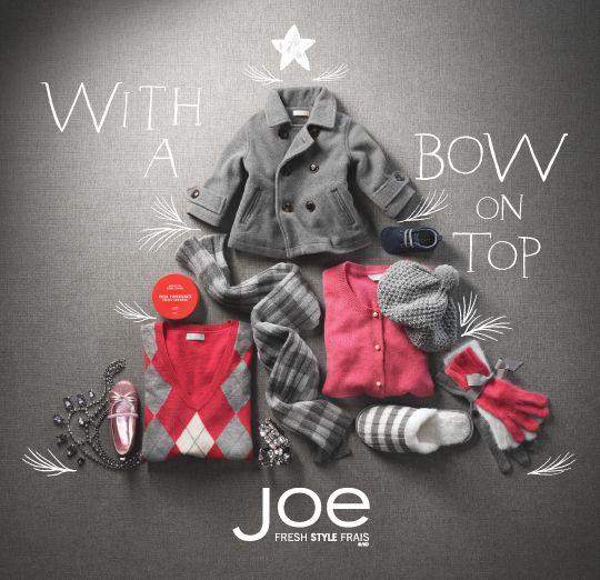 Joe Fresh Gift Guide by Linna Chang, via Behance
