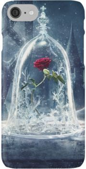 Enchanted Rose iPhone Case by sierramarie