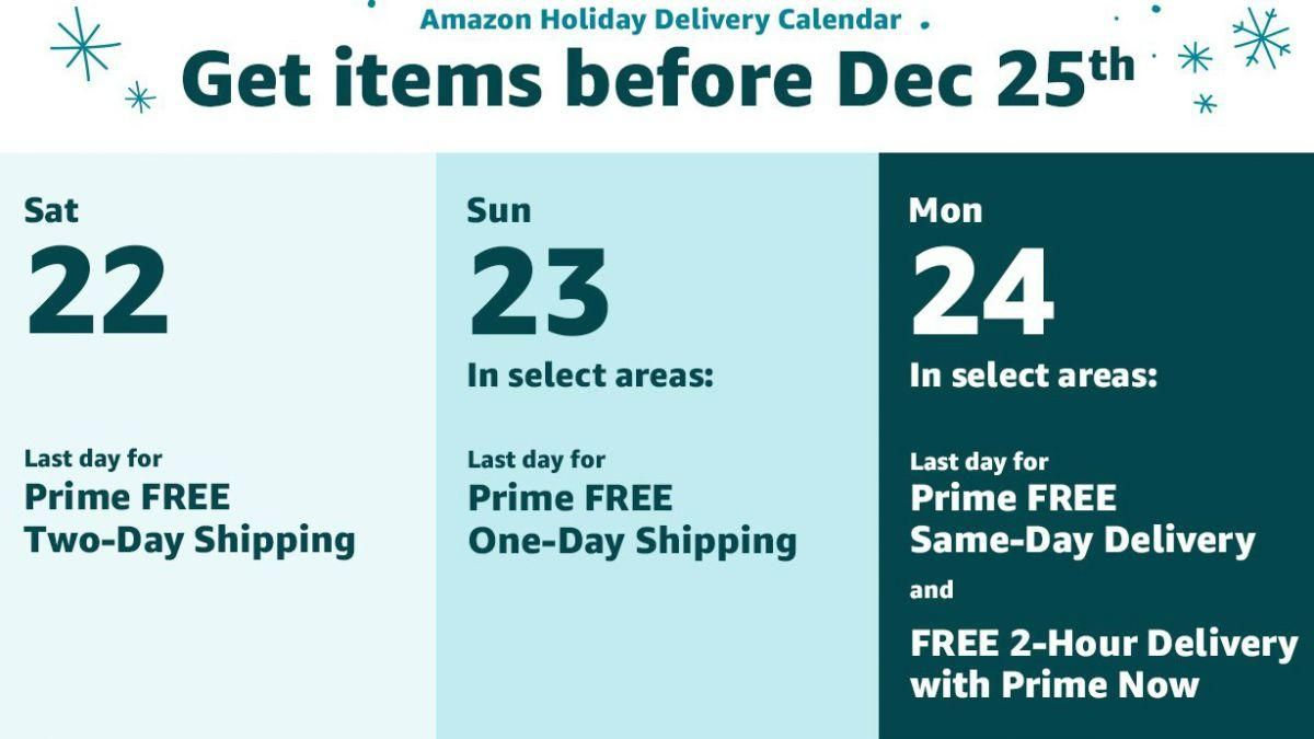 Amazon Prime Free Shipping Order Now For Christmas Delivery Amazon Prime Day Amazon Prime Free Shipping Christmas Delivery
