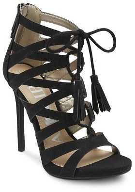 I just got these Sam & Libby strappy sandals that I'm dying to pair with some cute jeans and a blazer! Summer can't come soon enough!!