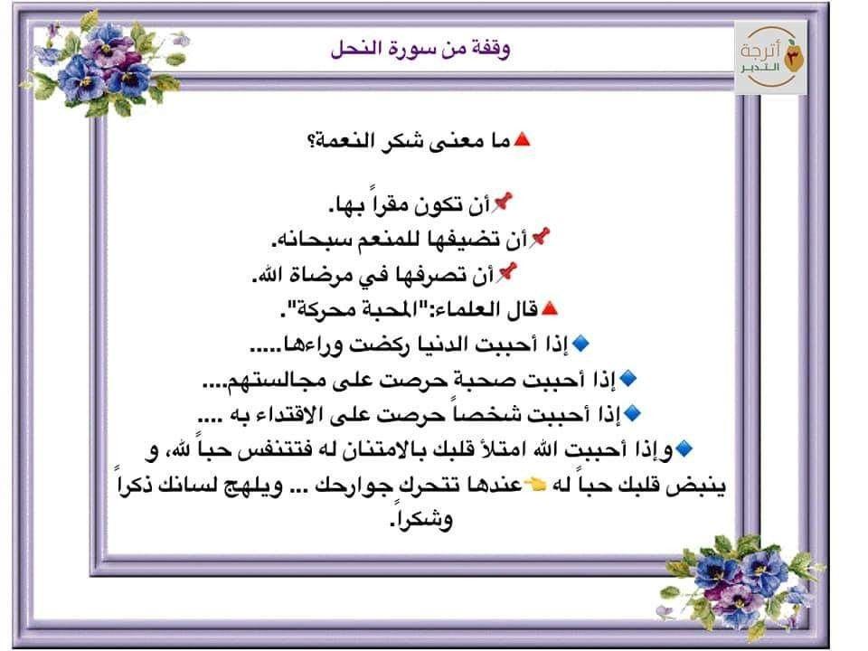 Pin By Iman Yousef On سورة النحل Bullet Journal Journal