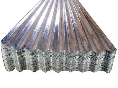 Raw Metal Used In Postindustrialism Corrugated Galvanised Iron Iron Steel Corrugated Sheets