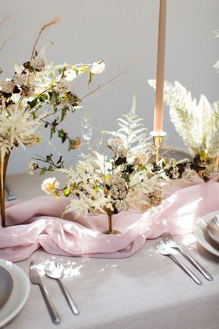1001 Idees De Decoration De Table Mariage Qui Vont Vous