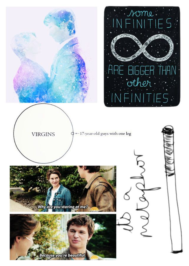 """""""The Fault in Our Stars"""" by abbybeaumont ❤ liked on Polyvore"""