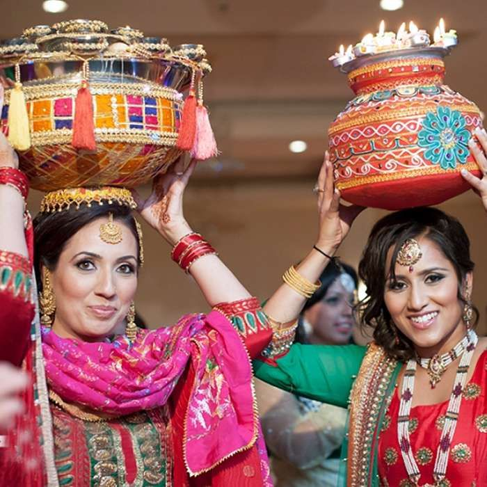 Mayian The Punjabi Pre Wedding Rituals Performing Jaggo Fireworks And Ladies Sangeet Ladies Sangeet Wedding Rituals Indian Wedding